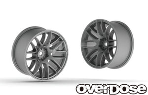 Overdose WORK EMOTION M8R - Matte Chrome