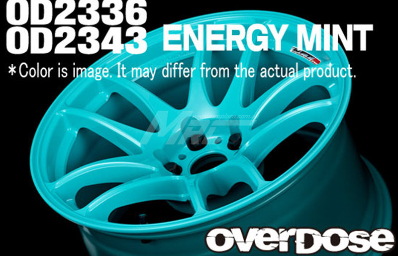 Overdose WORK EMOTION M8R (Limited Edition) Offset + 7 Wheel - Energy Mint