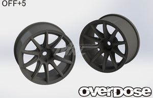 Overdose RAYS Gram Lights 57 Transcend Wheel - Black