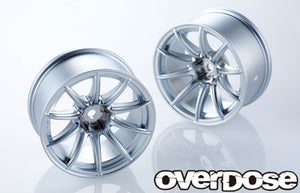 Overdose RAYS Gram Lights 57 Transcend Wheel - Matte Chrome