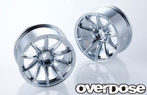 Overdose RAYS Gram Lights 57 Transcend Wheel - Chrome