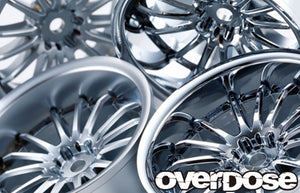 Overdose WORK XSA 05C Wheel - Matte Chrome