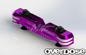 Overdose (#OD2480) Alum. Adjustable Suspension Mount Type-2 - Purple