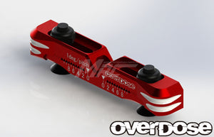 Overdose (#OD2481) Alum. Adjustable Suspension Mount Type-2 - Red