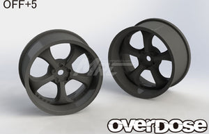 Overdose WORK VS KF Wheel - Black