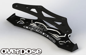 Overdose Alum. Bumper Support - Black