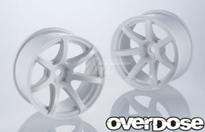 Overdose (OD2678) R-Spec. WORK EMOTION T7R Wheel - White