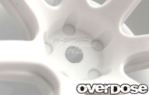 Overdose R-Spec Work Emotion T7R Wheel - White