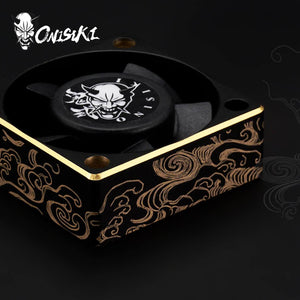 Onisiki (#ONI8201) Wind Jade Alum. High Speed Cooling Fan