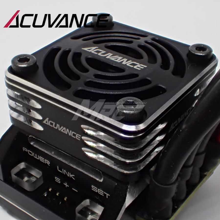 Acuvance (#OP15070) REY-Storm Ultra High Speed Fan Unit - Black