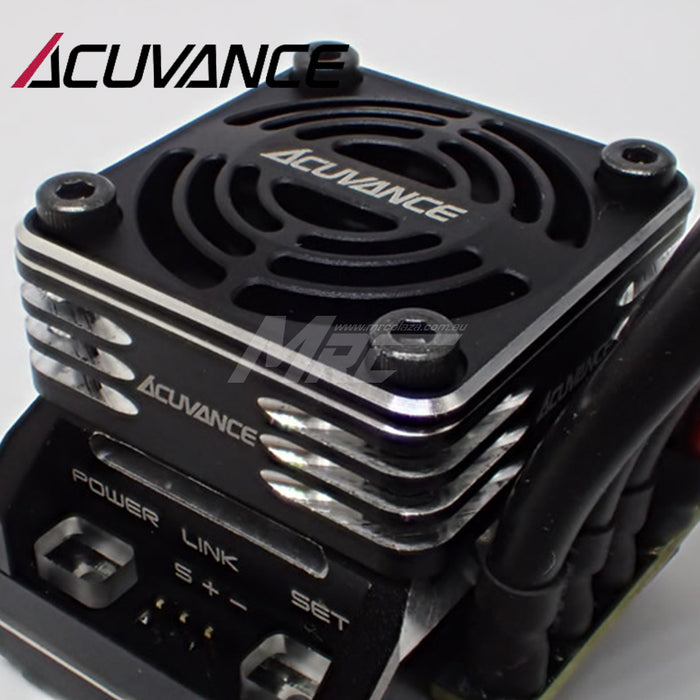 Acuvance REY-Storm Ultra High Speed Fan Unit - Black