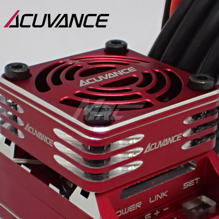 Acuvance REY-Storm Ultra High Speed Fan Unit - Red