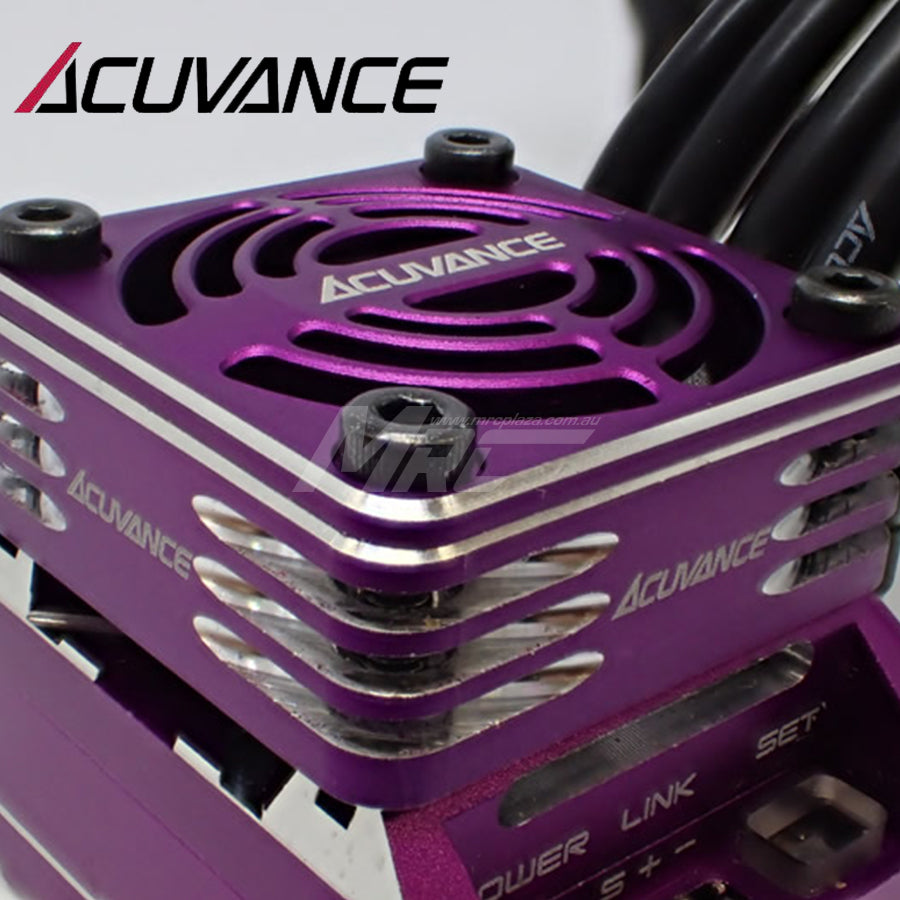 Acuvance (#OP15072) REY-Storm Ultra High Speed Fan Unit - Purple