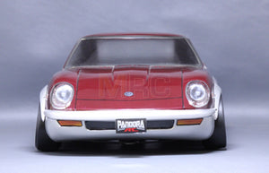 PANDORA (#PAB-119) Nissan FAIRLADY 240Z-G Body Set 199mm for 1:10 RC Cars