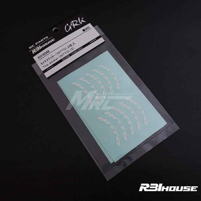 R31House Tyre Sticker - NITTO