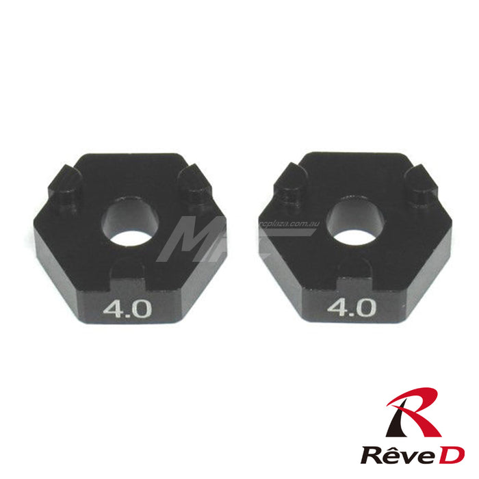 Rêve D ASL Front Axle Set Wheel Spacer 4.0mm