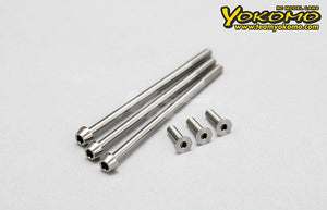 Yokomo (#RP-090) RP Precision Titanium Screw Set