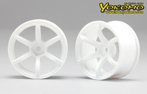 Yokomo RP Drift 6 Spoke - White