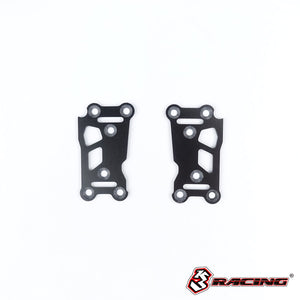 3Racing (#SAK-D506) Fiber Rear Suspension Plate 197mm