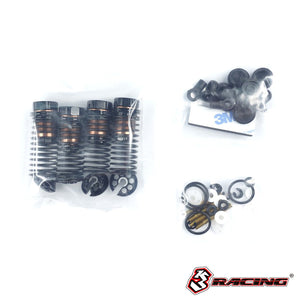3Racing (#SAK-D5619) Alum. Oil Shock Set