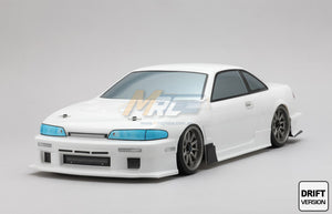 Yokomo (#SD-1093B) Nissan 1093SPEED S14 SILVIA Body Set