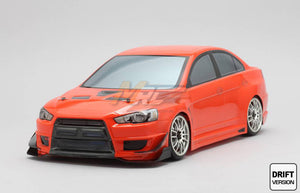 Yokomo (#SD-EVXB) Mitsubishi YUKE'S CUSCO LANCER Evolution X Body Set