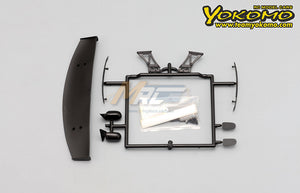 Yokomo (#SD-TY180W) Team TOYO GP SPORTS 180SX Accessory Set
