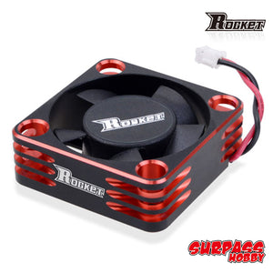 Surpass Hobby Rocket Alum. Frame 30mm ESC Cooling Fan - Red