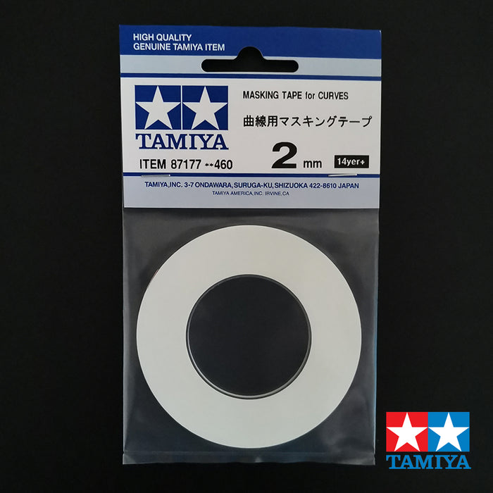Tamiya Masking Tape Curves 2mm