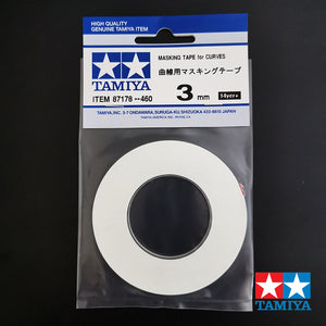 Tamiya (#T87178) Masking Tape for Curves 3mm