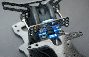 Usukani (#US88108YB) DPR Front Suspension Structural System - Yokomo Blue