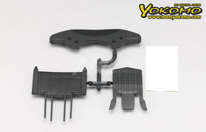 Yokomo (#Y2-001BD) Undertray Diffuser Set