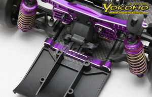 Yokomo Alum. Adjustable Suspension Mount Set - Purple