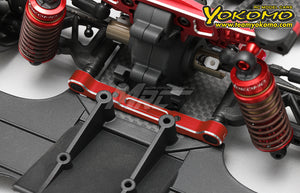 Yokomo Alum. Adjustable Suspension Mount Set - Red