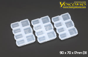 Yokomo (#YC-10) Parts Box 90 x 70 x 17mm