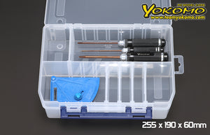 Yokomo Parts Box 255 x 190 x 60mm