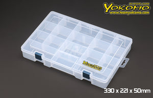 Yokomo (#YC-12) Parts Box 330 x 221 x 50mm