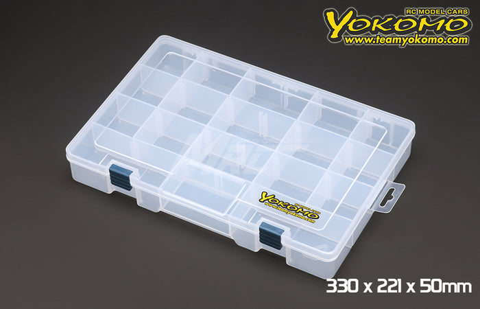 Yokomo Parts Box 330 x 221 x 50mm