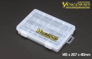 Yokomo (#YC-6) Parts Box 145 x 207 x 40mm