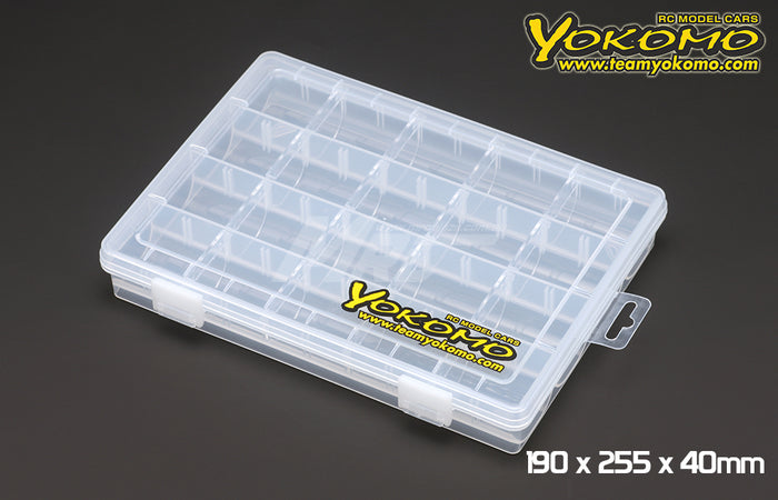 Yokomo Parts Box 190 x 255 x 40mm