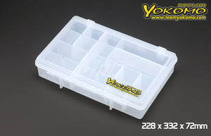 Yokomo (#YC-8) Parts Box 228 x 332 x 72mm