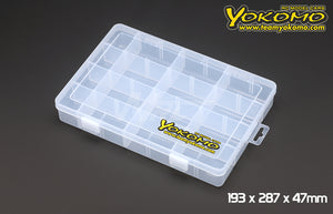 Yokomo (#YC-9) Parts Box 193 x 287 x 47mm