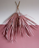 Load image into Gallery viewer, Dried Palm Leaf - Dusky Pink