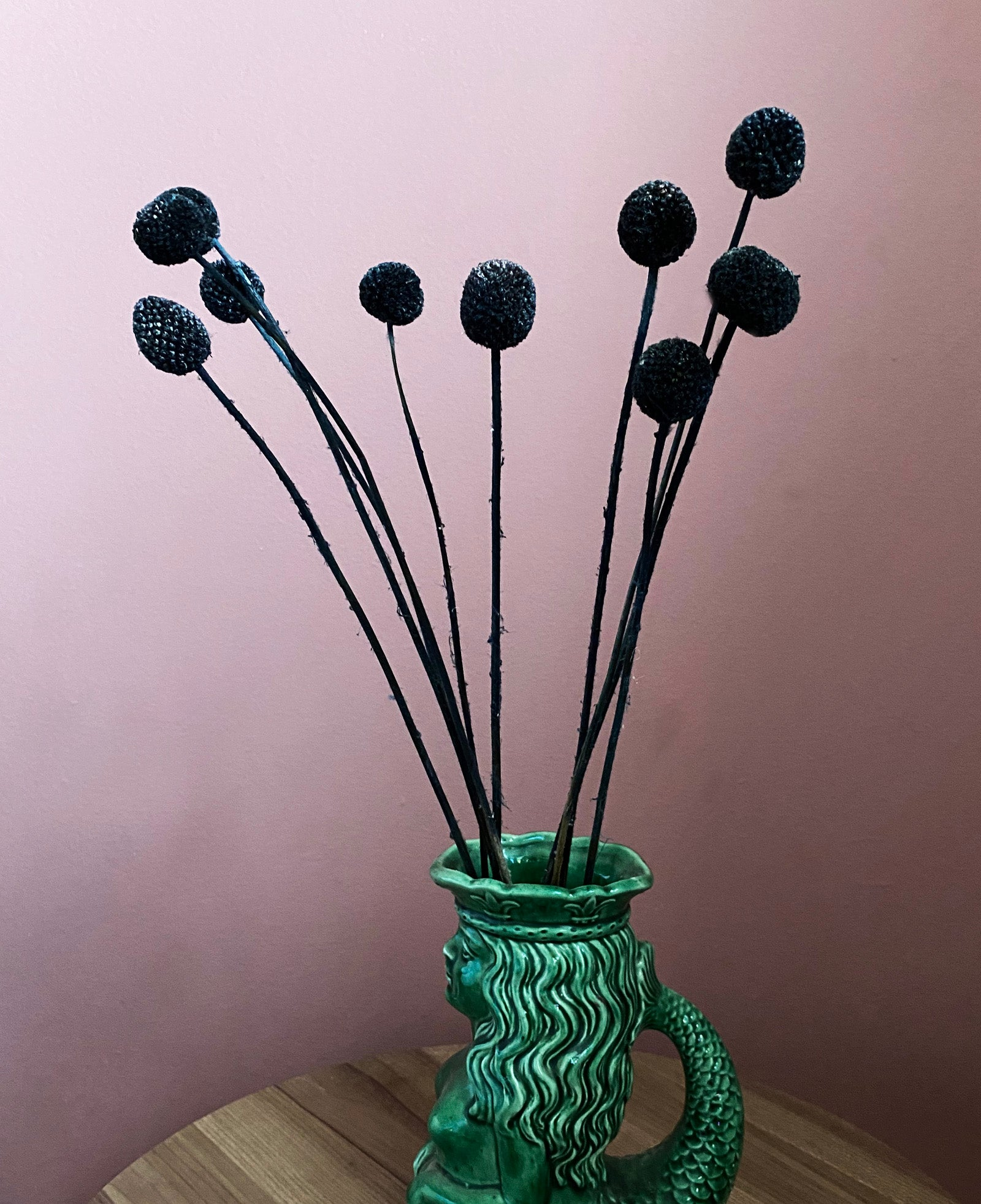 Billy Buttons - Black