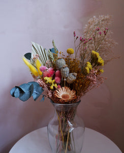 Hand-tied Posies - 'Spring Me Sunshine'