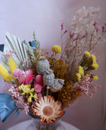 Load image into Gallery viewer, Hand-tied Posies - 'Spring Me Sunshine'