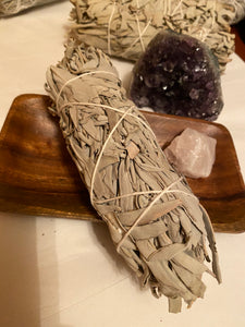Sage it away... smudge stick