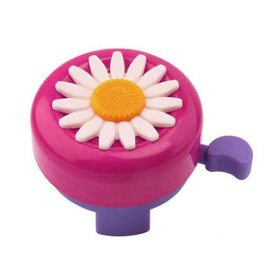 Bike Bell Clear Bicycle Horns Accessories For Kids Flower Loud