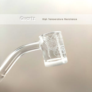 Quartz Nails Banger with Female Male 10mm 14mm 18mm 45 90 Quartz Banger Nails  for Water Pipes