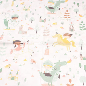 New 2pic/lot 40x50cm Cotton fabric for Sewing baby pillow dress Bedding tablecloth Patchwork tissue tecidos DIY Doll cloth fabrics p12